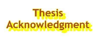 Writing acknowledgements in dissertation essay